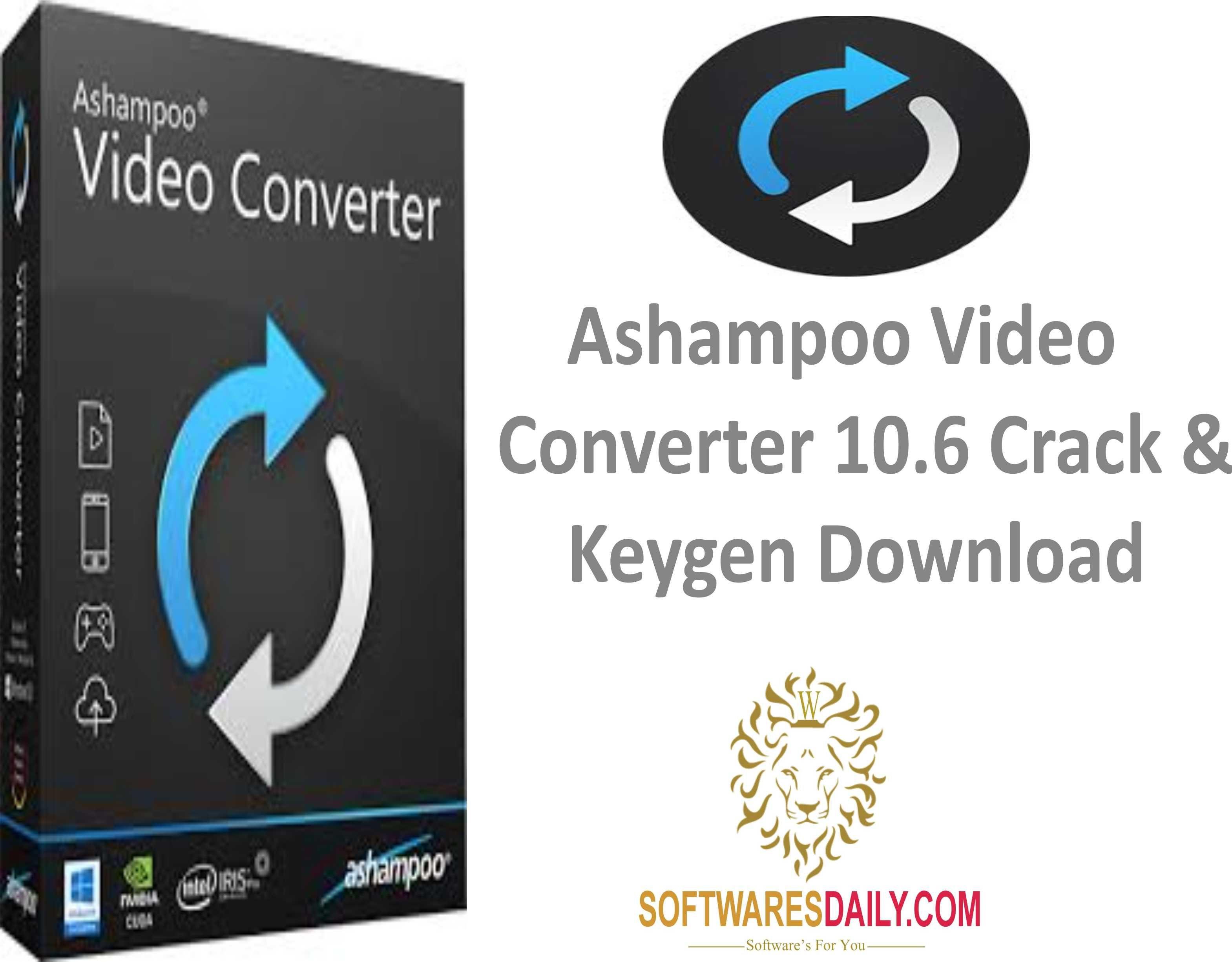 Ashampoo Video Converter 10.6 Crack & Keygen Download,Ashampoo Video Converter 10.6 Crack,Ashampoo Video Converter Keygen Download..........................