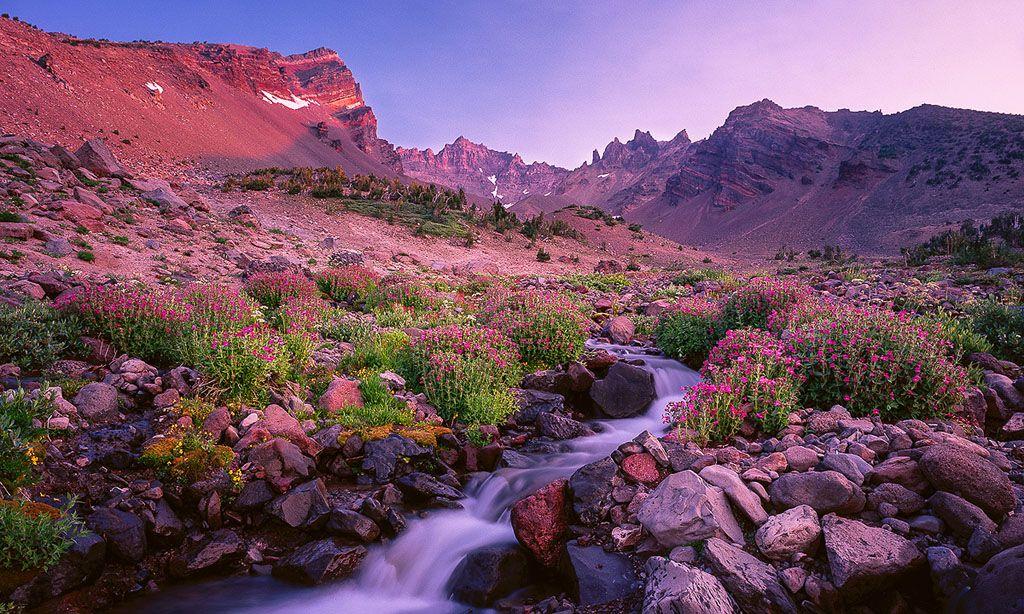 Broken Top Flow In Oregon S High Desert Love The Springtime