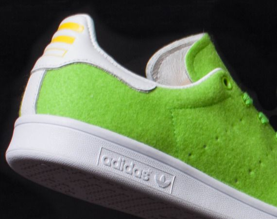 new product 116ef 30c50 Pharrell Williams x adidas Originals Stan Smith Tennis Pack