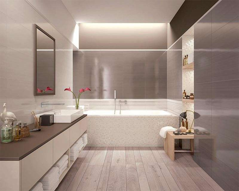 Illuminare un bagno cieco foto design mag bathroom
