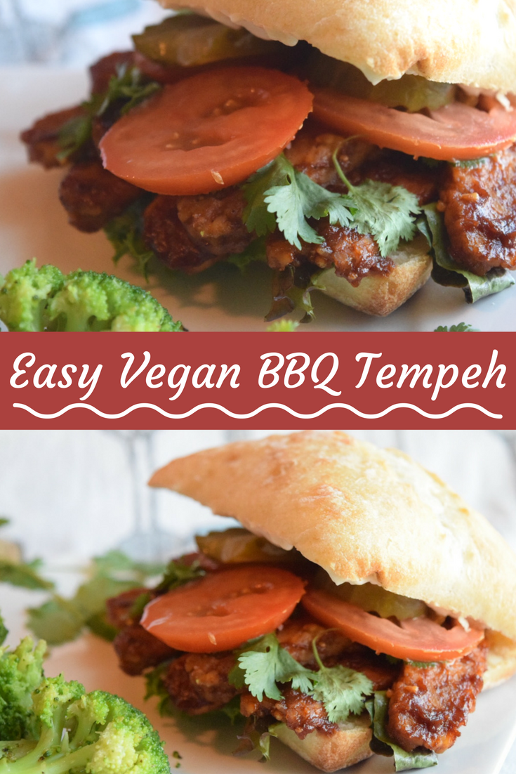 Bbq Tempeh Sandwich Icanyoucanvegan Bbq Tempeh Sandwich Recipe Vegan Bbq Recipes Bbq Recipes Tempeh