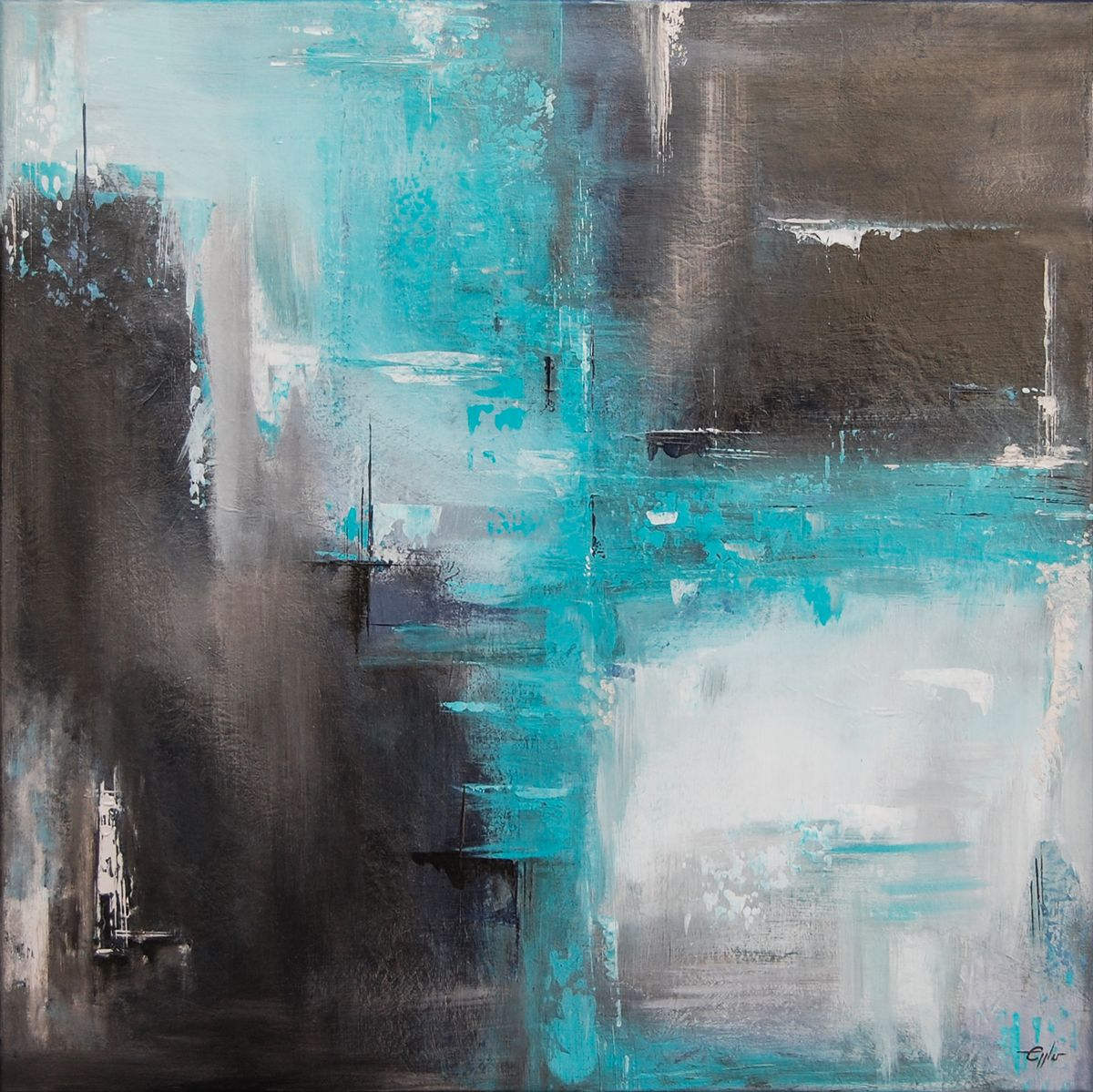 Abstrakte Acrylmalerei Acrylmalerei abstrakt