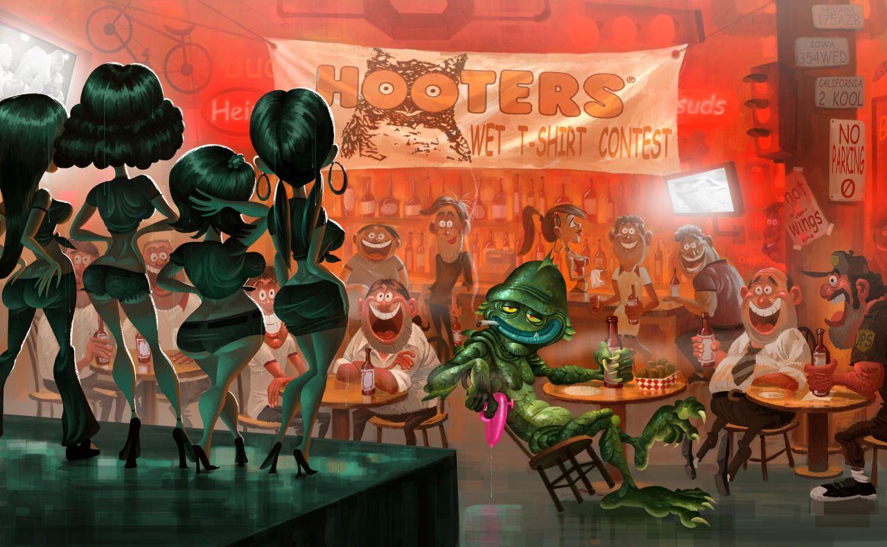 Monsters vs Aliens by Rinkusu001 on DeviantArt