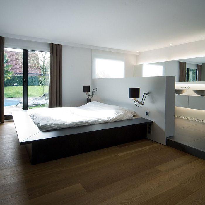 Maison contemporaine   Aménagement design   Suite parentale - plan d interieur de maison