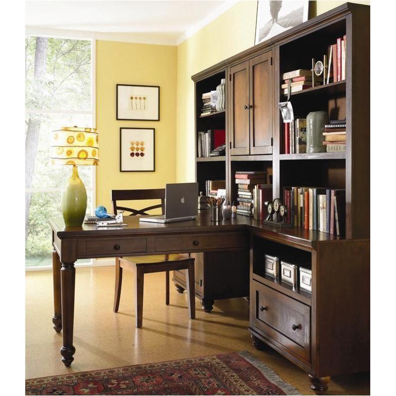 Icb-6945-bch Aspen Home Furniture Cambridge Peninsula Desk
