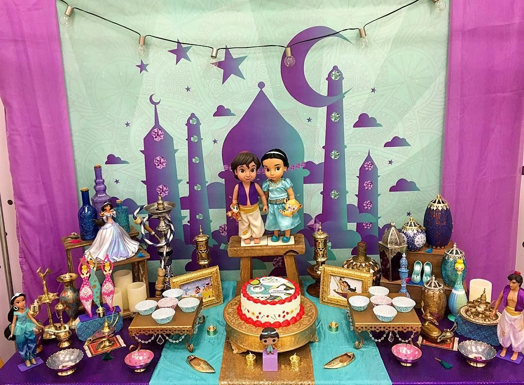 Aladdin and Jasmine birthday party !  #CoolCornerBistro  #gulfstream…