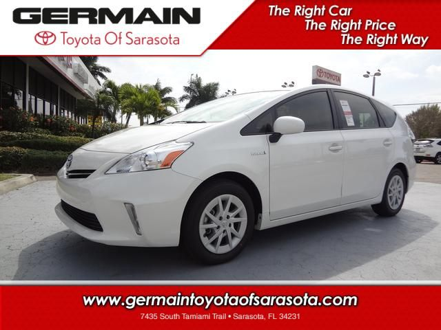 Explore The New 2013 Toyota Prius V Hybrid Two Wagon At Germain Toyota Of  Sarasota.