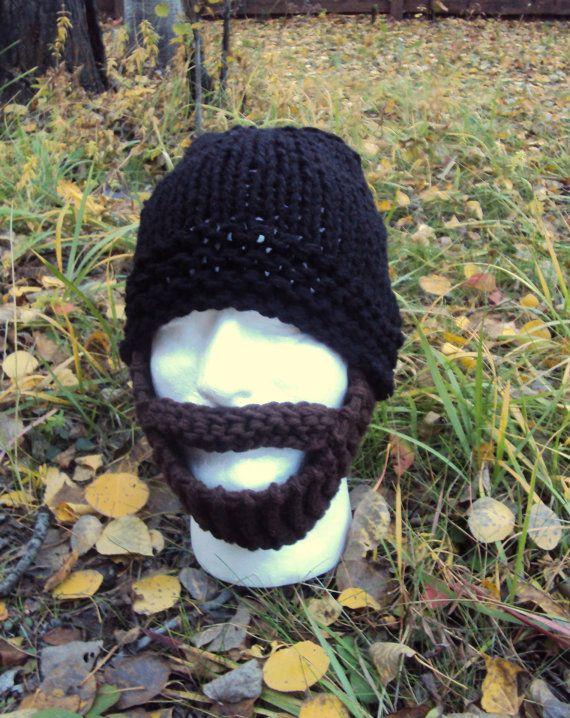 MENS BEARD HAT Beanie Ski Mask Face Mask Winter Hat Snowboard Hat ...