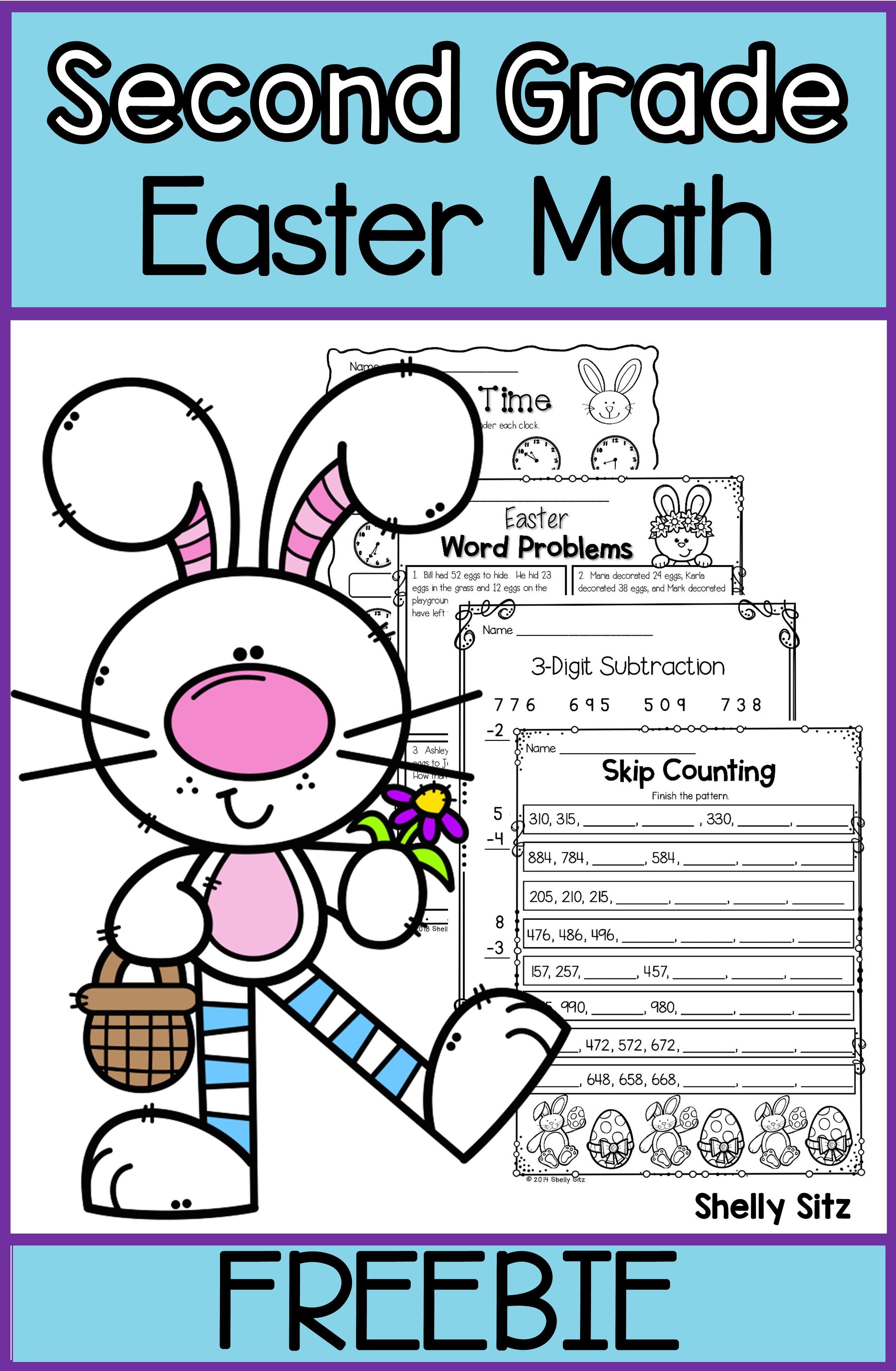 Easter Math Freebie In