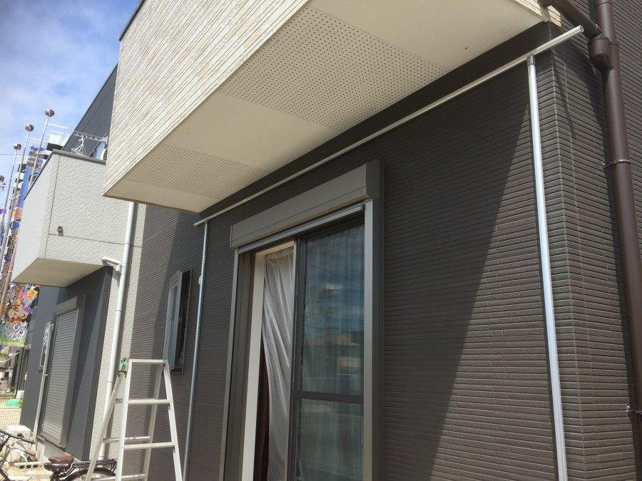 アルミパイプでテラス屋根diy 製作編1 テラス屋根 Diy 屋根 Diy