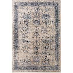 Photo of benuta carpet Yara beige 160×230 cm – vintage carpet in the used look benuta