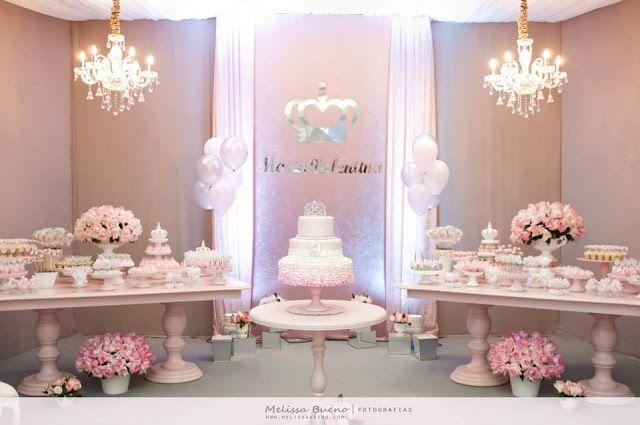 Decoracion de mesa de postres para fiesta de xv a os for Mesa de dulces para xv anos