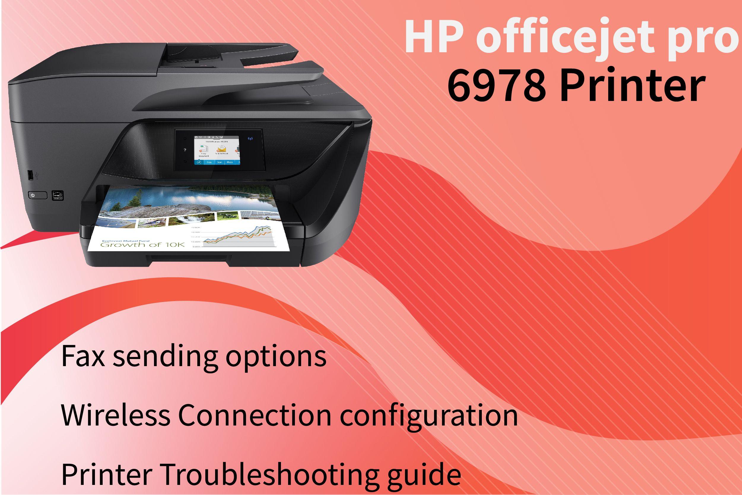 123 hp com/ojpro6978 | HP Officejet Pro Printer | Hp