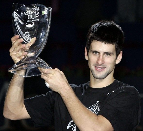 In His First Round Robin Match He Defeated Argentine Juan Martin Del Potro In Straight Sets He Then Beat N Tennis Trophy Juan Martin Del Potro Novak Djokovic