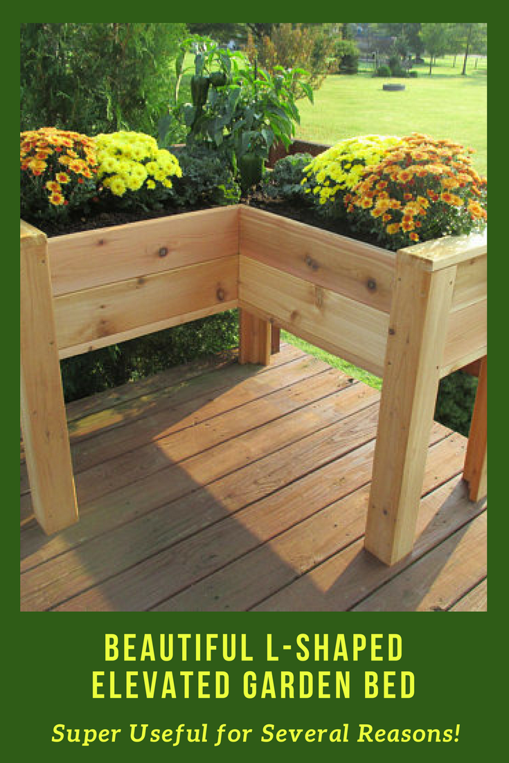 Made From Naturally Rot Resistant Cedar Boards These Elevated