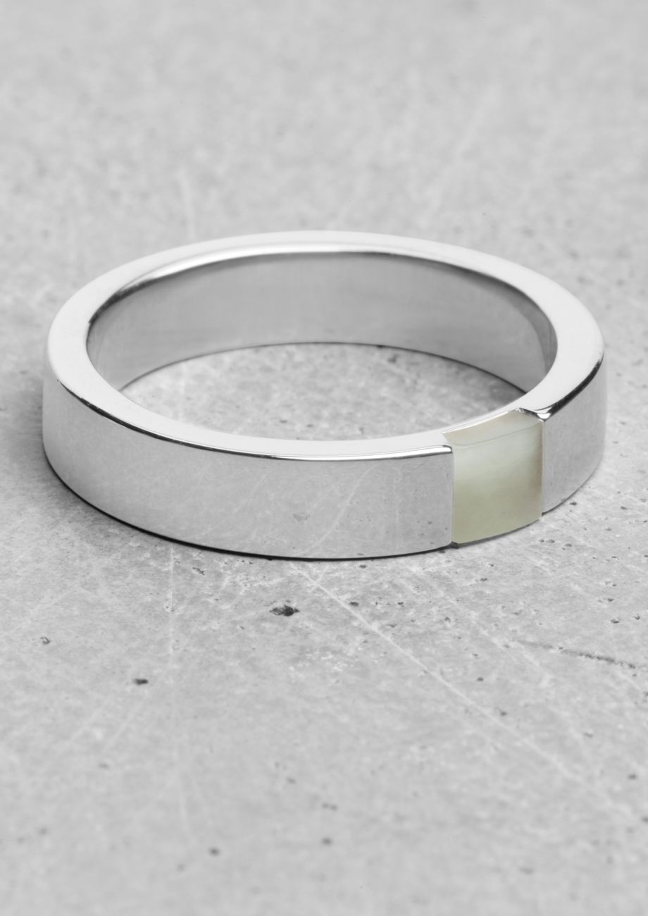Lara Melchior thin stone ring | Lara Melchior thin stone ring | & Other Stories