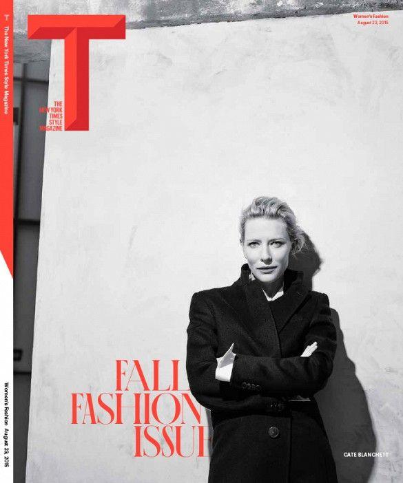Cate Blanchett for T Magazine