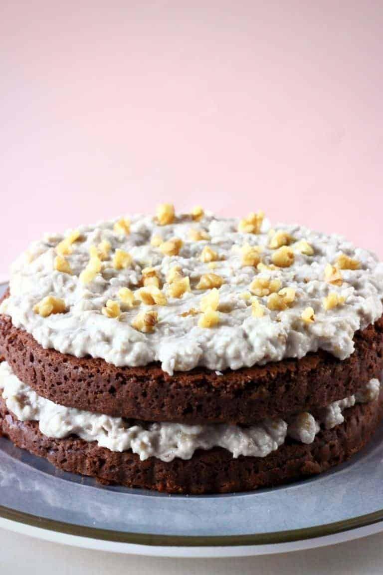 Glutenfree vegan german chocolate cake best gluten free