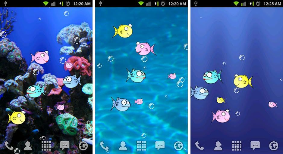 Best Aquarium And Fish Live Wallpapers For Android