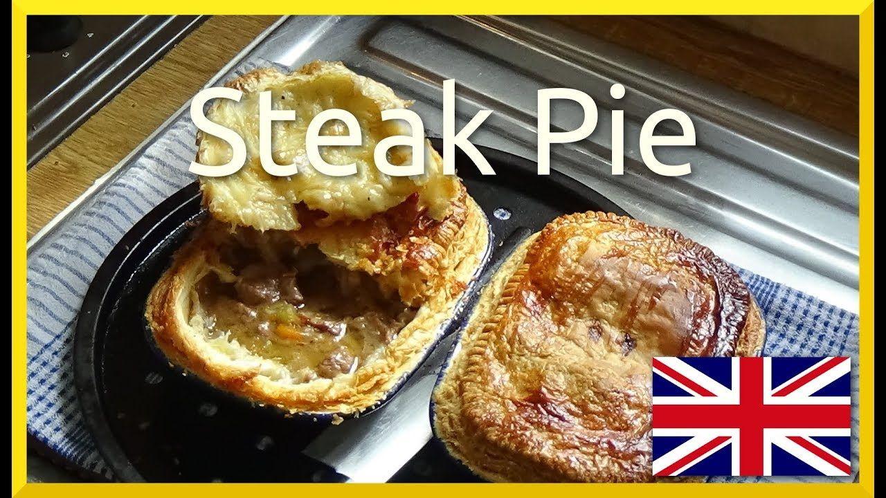 How to Bake British Steak Pie | Steak pie, Food, Baking
