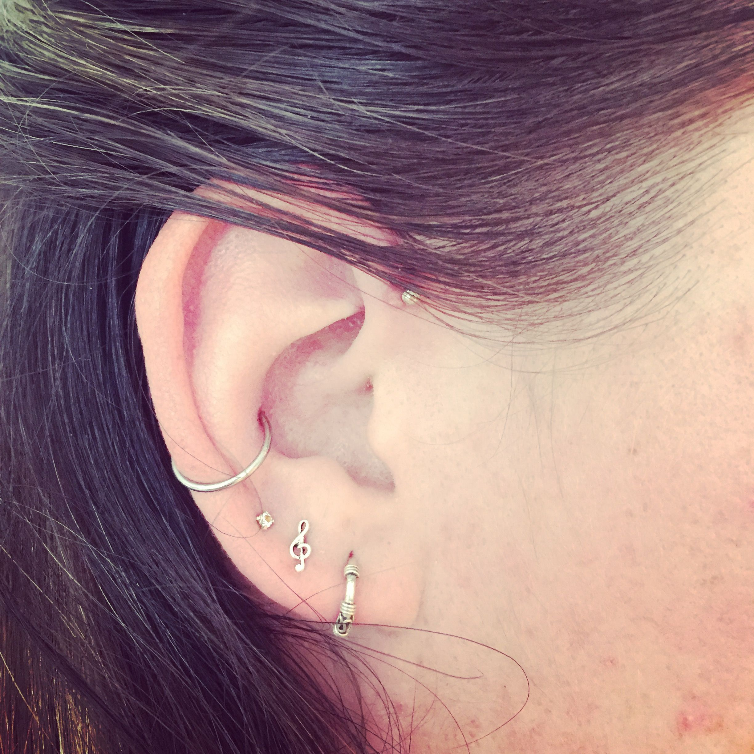 Piercing nose names  My innerconch forwardhelix piercing  Beauty  Pinterest