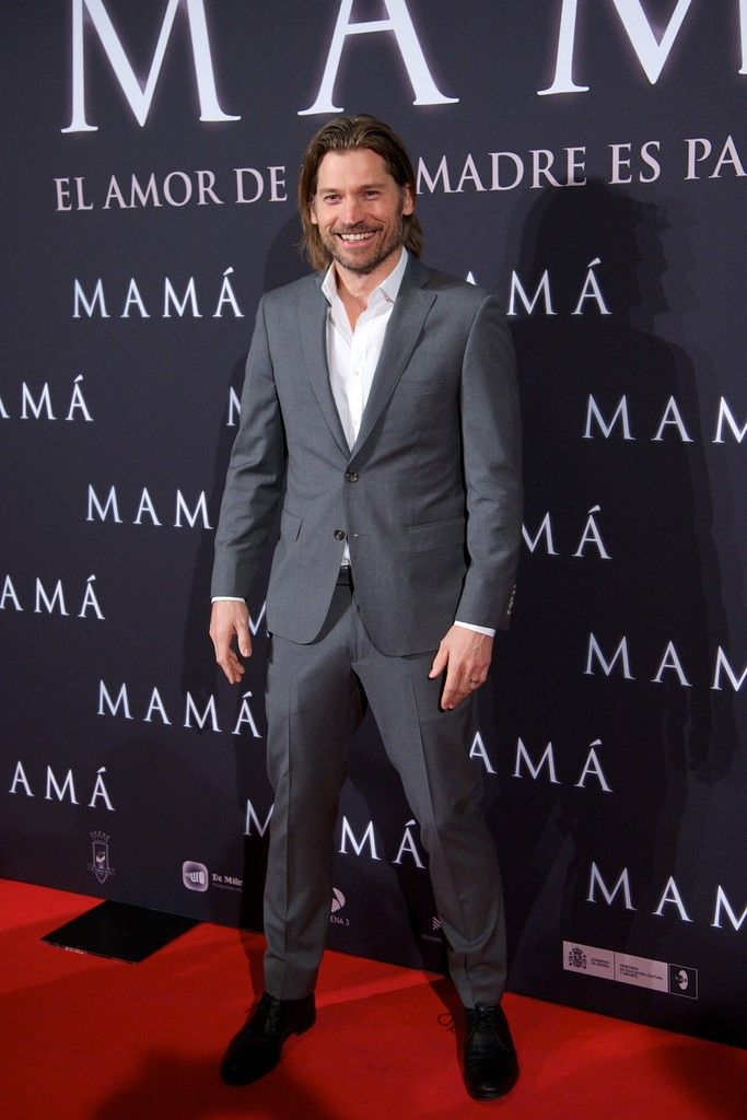 Nikolaj Coster-Waldau - 'Mama' Madrid Premiere