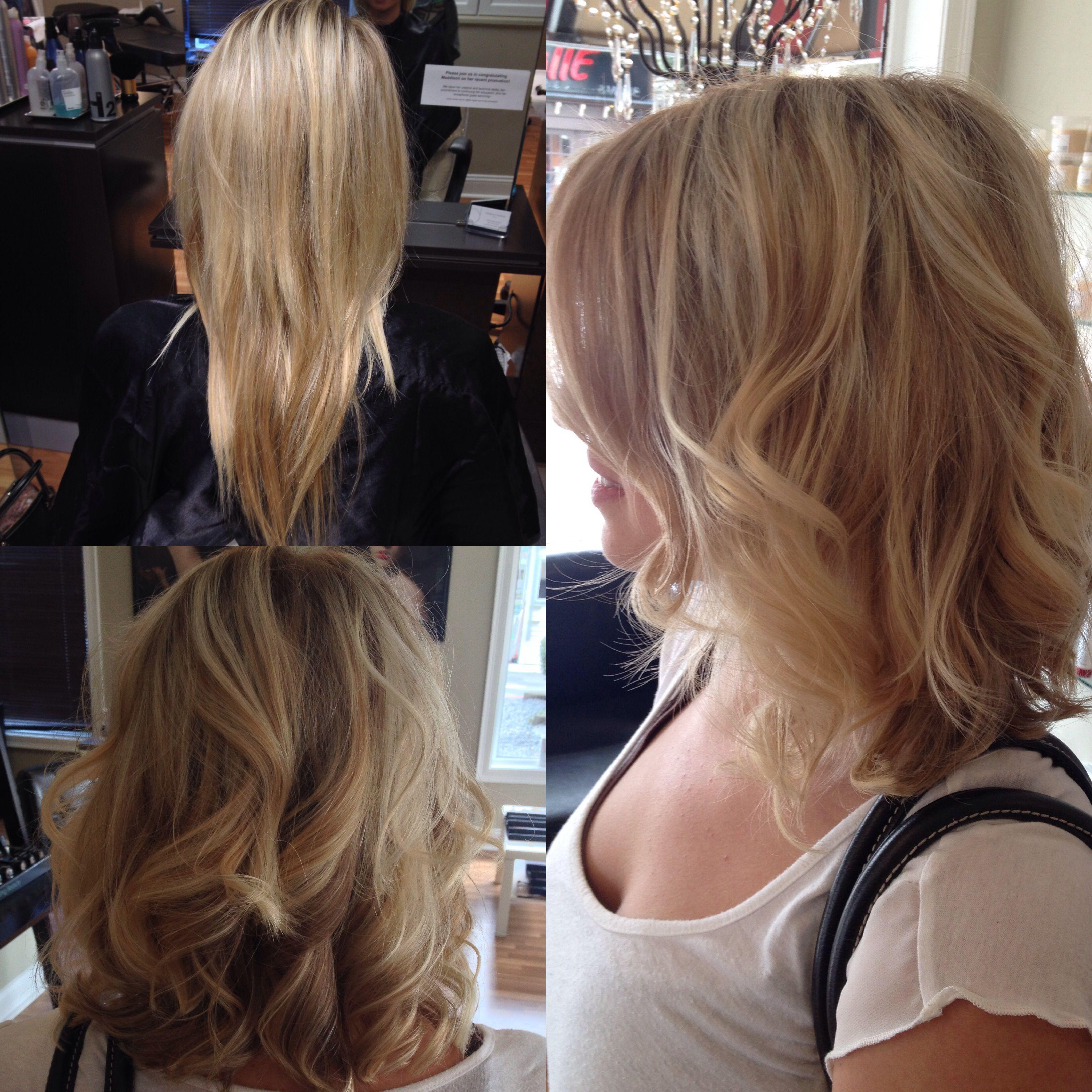 Super cute short blonde hair