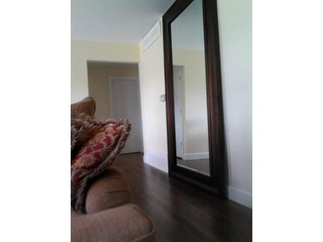 Pottery Barn Oversized Leaning Floor Mirror Leaning