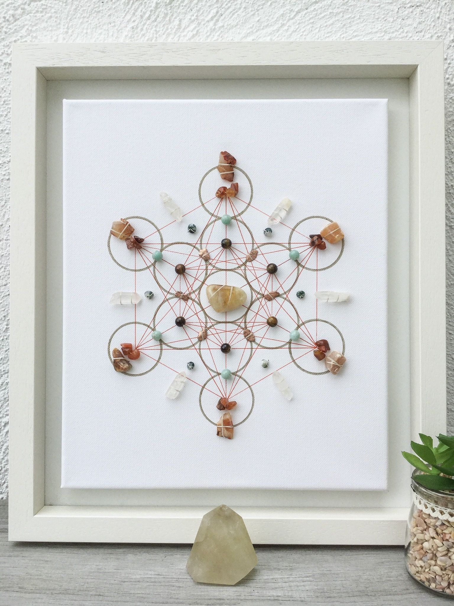 Crystals For Office, Crystal Grid, Successful Business, Crystals For  Success, Office Warming