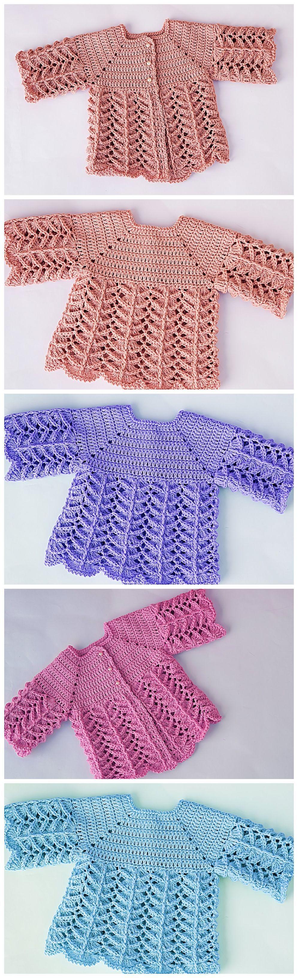 Häkeln Sie Baby Pullover - häkeln Sie Ideen #babypullover