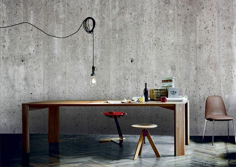 papier peint imitation beton cire