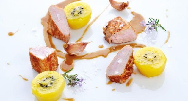 Solomillo Con Kiwi Recetas De Cocina Solomillo De Cerdo