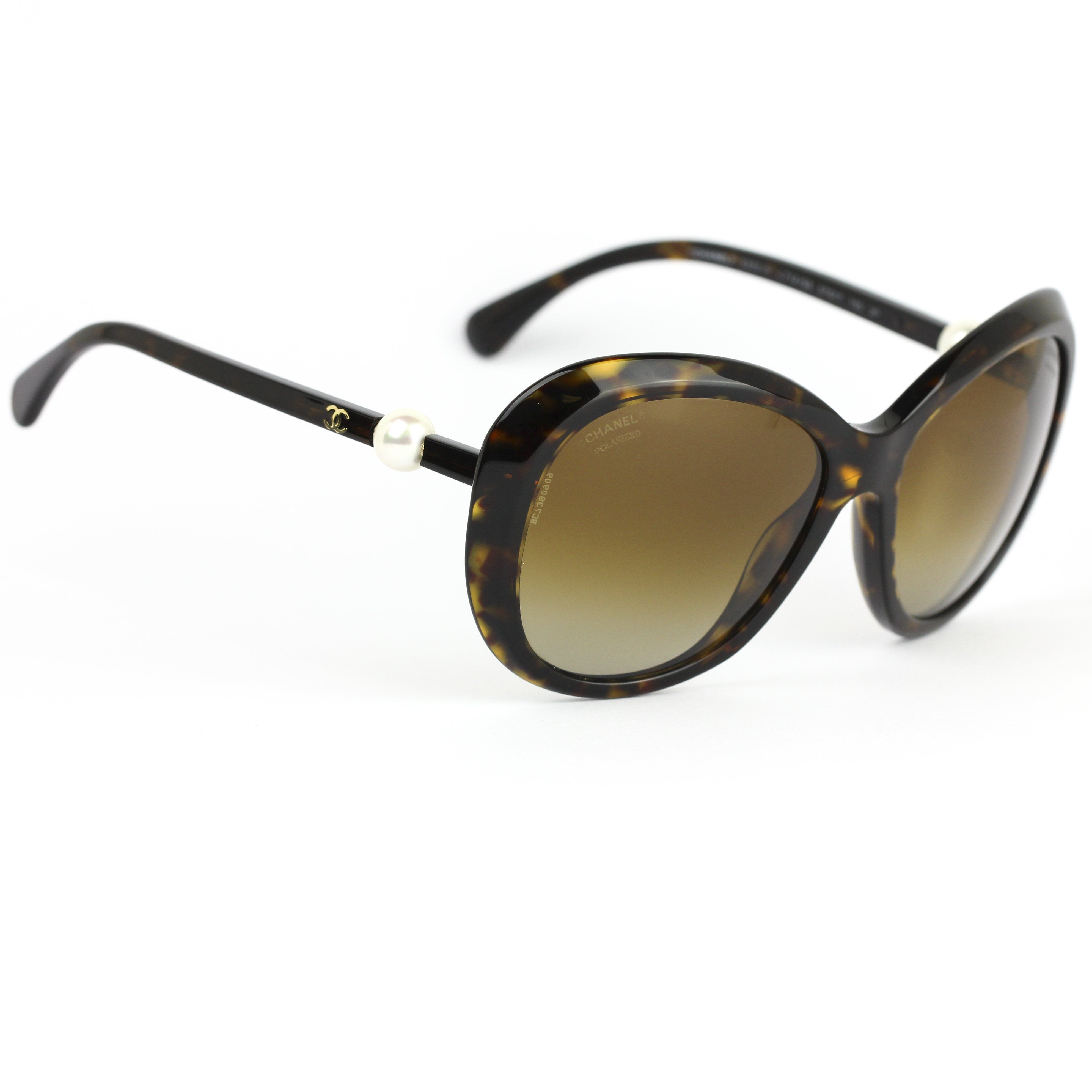 95593317f7a Chanel 5302 H Pearl Sunglasses Dark Tortoise Frame