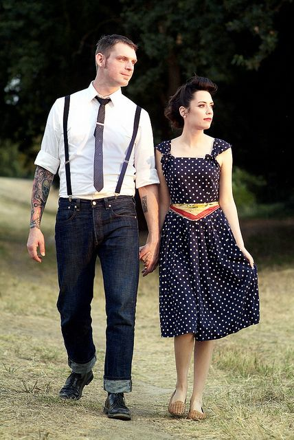 Sweet And Lovely Rockabilly Lovers Rockabilly Fashion