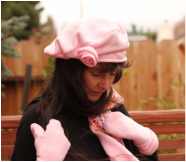 Visit my blog, Art and Nature, to see the McCall's pattern IDs for my #hats.