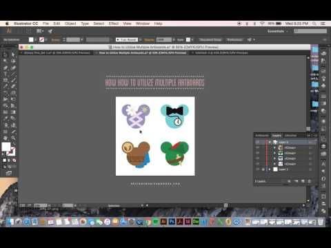 How to Utilize Multiple Artboards – Designs By Miss Mandee