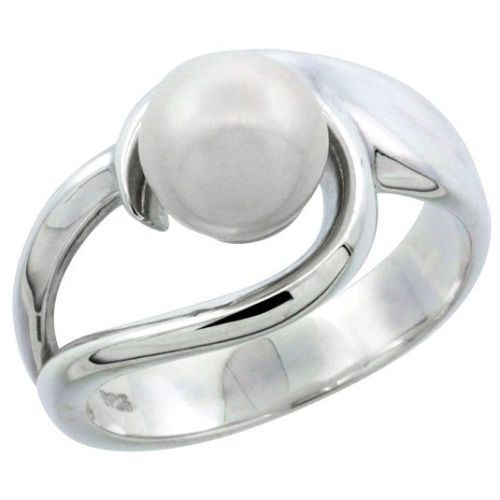 Sterling-Silver-Loop-Pearl-Ring-1-2-in-12mm-wide-Available-in-Sizes-5-to-10