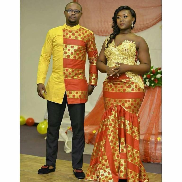African Couple African Traditional Wedding African Wear African Traditional Wedding Dress Couples African Outfits African Wedding Dress