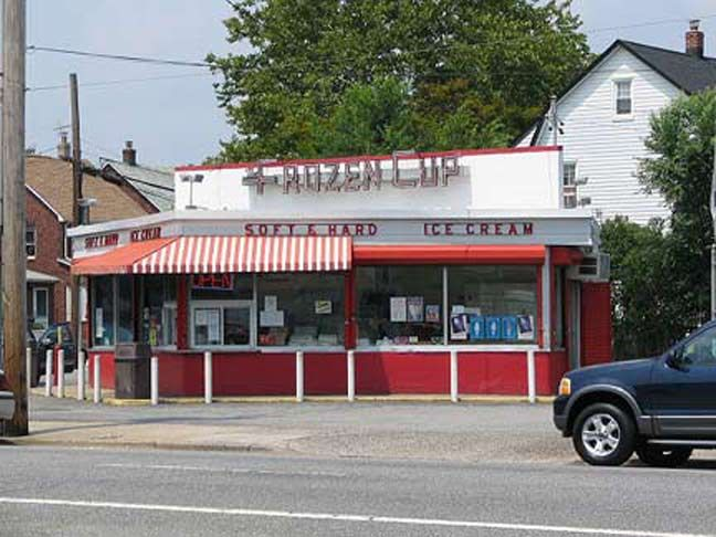 the late frozen cup in floral park at jericho turnpike and 249th street queens ny pinterest