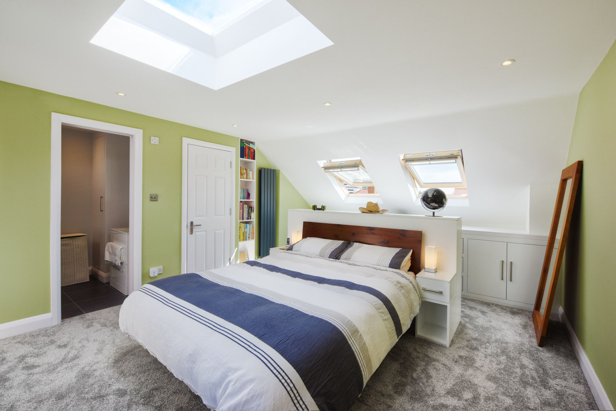 Darrell and Amy\'s finished loft conversion is a triumph of design ...