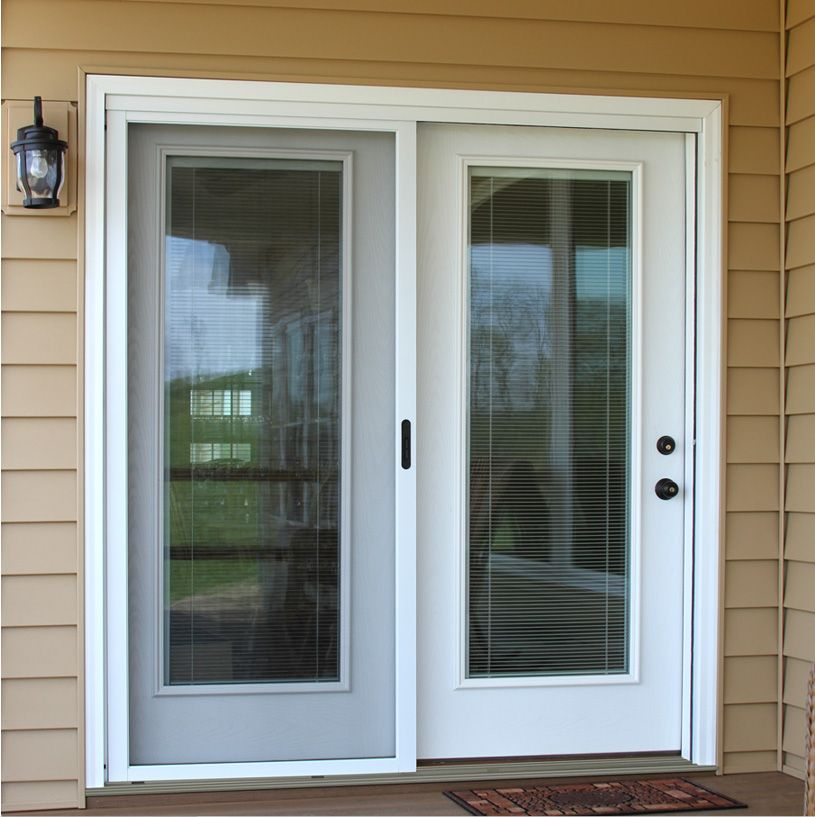Center hinged patio door google search dream home for Patio screen door