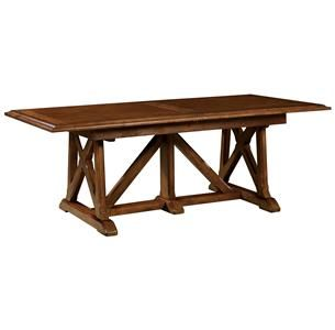 Possible dining room table (seems an appropriate design for a church...)