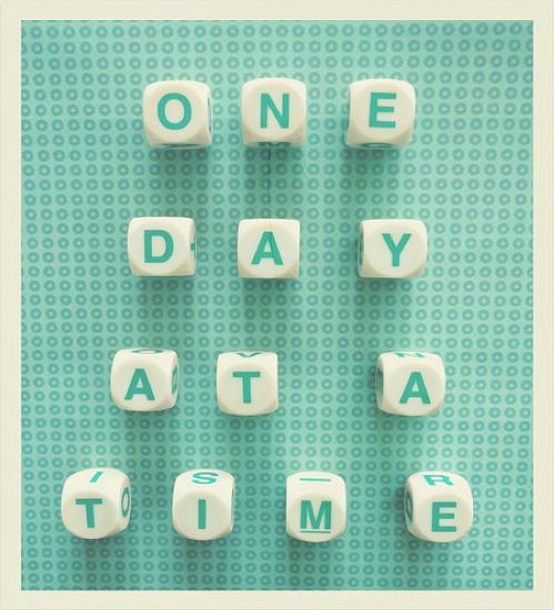 En dag i taget...