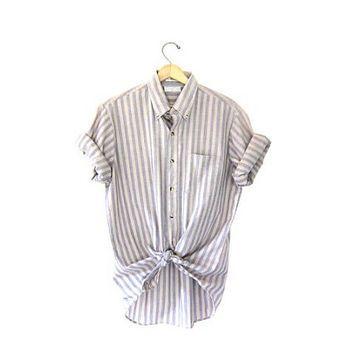 Vintage button up shirt, geeky girl sucks black cock