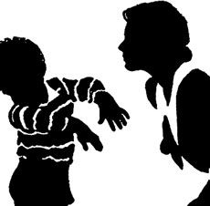 Mother Scolding Child Image