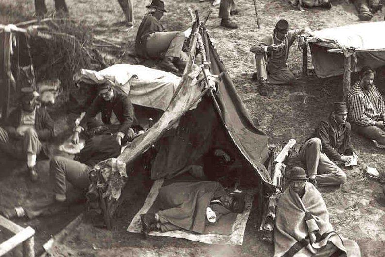 Civil War Prisoners of War | Civil wars, American civil ...