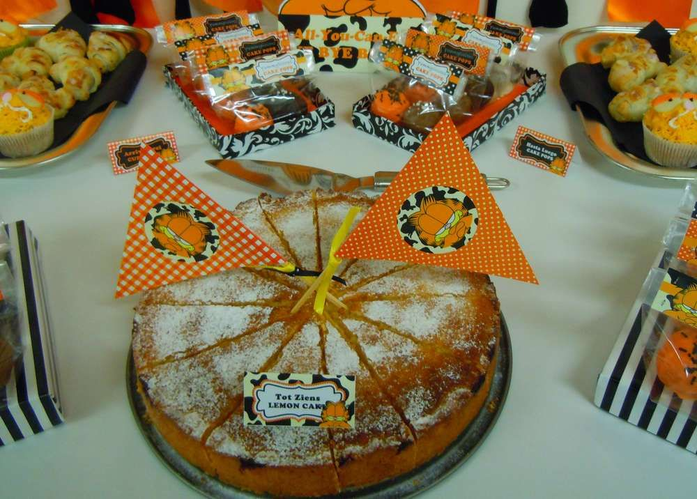 Garfield Farewell Party Party Ideas Photo 9 of 22