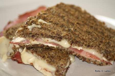 Ein-Minuten-Leinsamen-Brot Low Carb - sabo (tage) buch #flaxseedmealrecipes