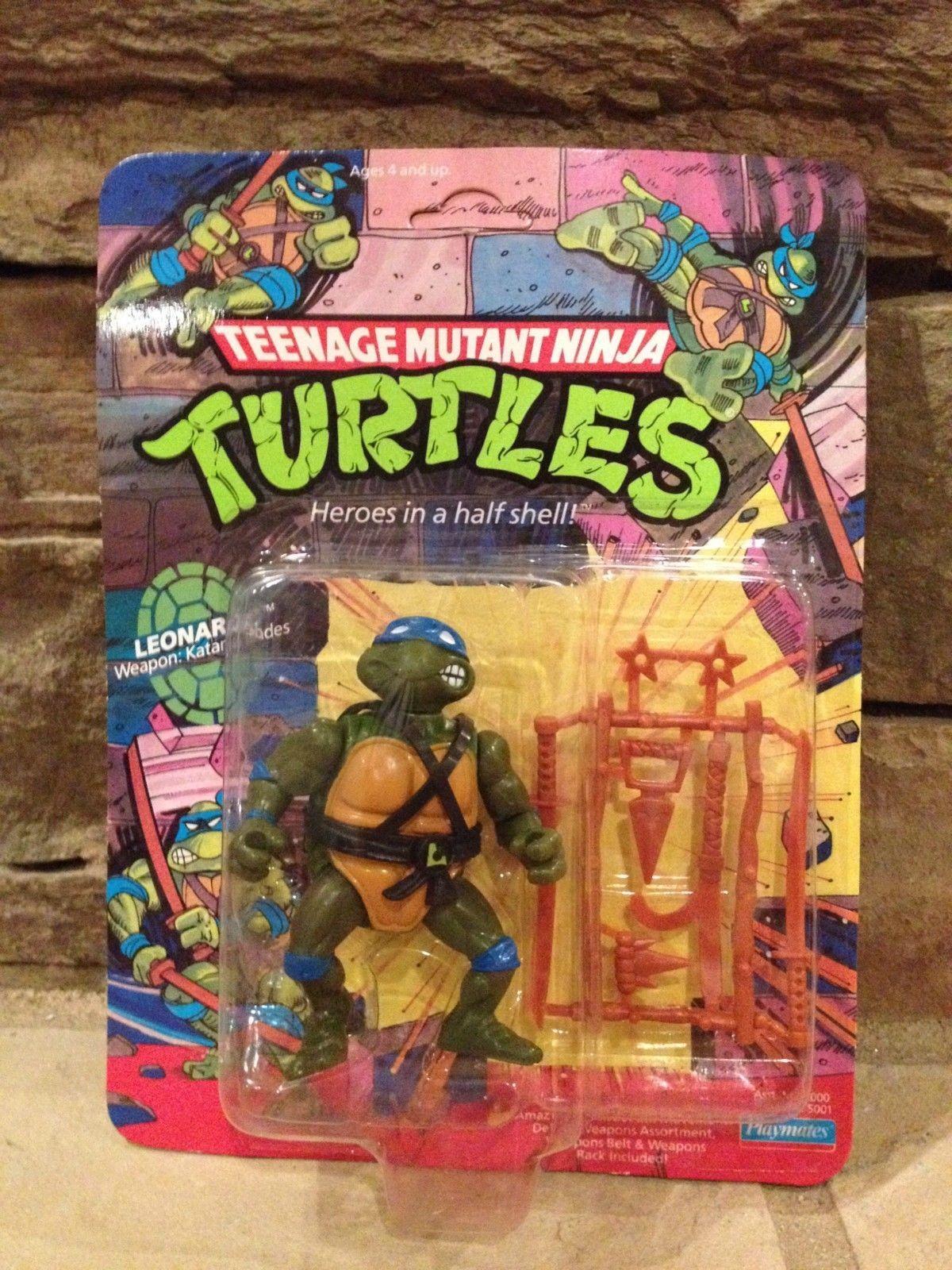 Tmnt Action Figure Heroes In A Half Shell Leonardo 1988