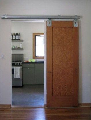 Puertas corredizas de madera decocasa puertas - Puertas correderas colgantes ...